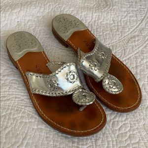 Jack Rogers Silver 7